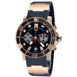 Ulysse Nardin Men's 'Maxi Marine Diver' Rose Gold Chronograph Watch