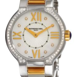 "Raymond Weil Women's 5927-SPS-00995 ""Noemia"" Two Tone Diamond Stainless Steel Watch"