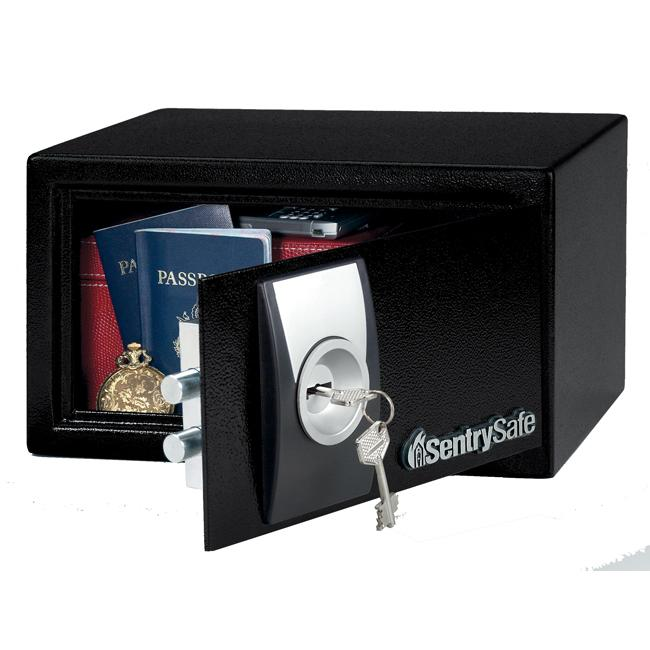 Sentry Security Safe with 6-lever Key Lock