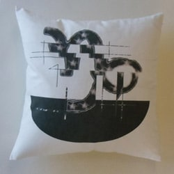 Capricorn Zodiac Sign Cotton Decorative Pillow