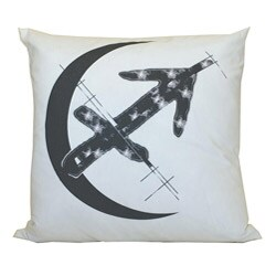 Sagittarius Zodiac Sign Cotton Decorative Pillow