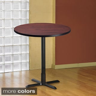 Mayline Bistro Bar-height 42 inch Round Table