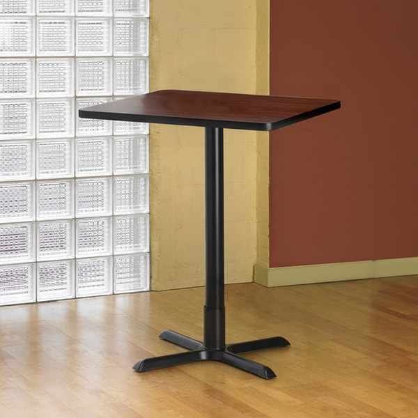 Counter Height Utility Table : Mayline Bistro Bar-height 36 inch Square Table - Overstock Shopping ...