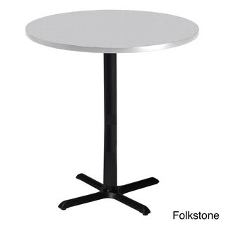 Mayline Bistro Bar-height 36 inch Round Table