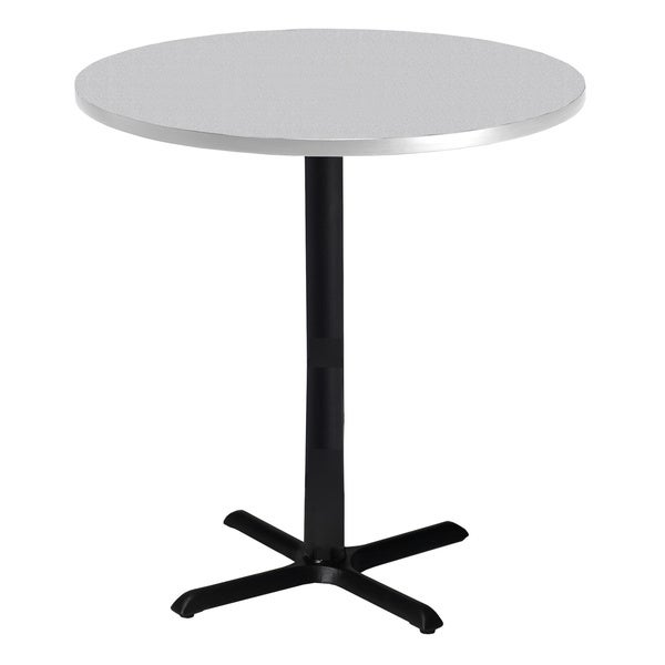 Mayline Bistro Bar Height 36 Inch Round Table 13364110 Overstock