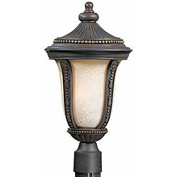 Ambassador 3-light Bronze Garden Light