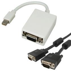 VGA Monitor Extension Cable/ Mini Display Port to VGA Adapter