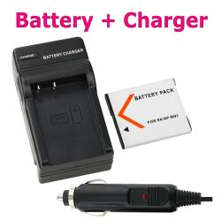 Compatible Li-ion Battery/ Compact Battery Charger for Sony NP-BN1