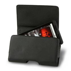 Premium Black Leather Phone Case