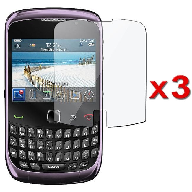 Screen Protector for BlackBerry Curve 3G/ 9300 (Pack of 3)