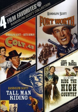 4 Film Favorites: Randolph Scott Westerns (DVD)
