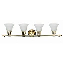 Energy Star 4-light Brass Lighting Sconce