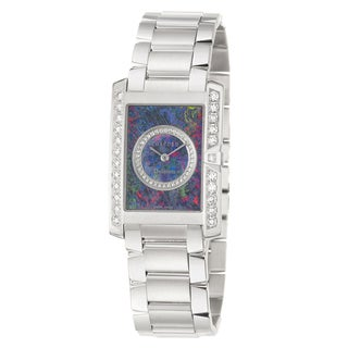 Concord Women's 'Delirium' 18k White Gold Quartz Diamond Watch