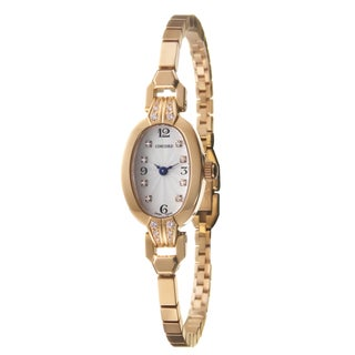 Concord Women's 'Soiree' 18k Rose Gold Swiss Quartz Diamond Watch