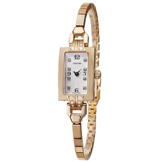 Concord Women's 'Soiree' 18k Rose Gold Quartz Diamond Watch