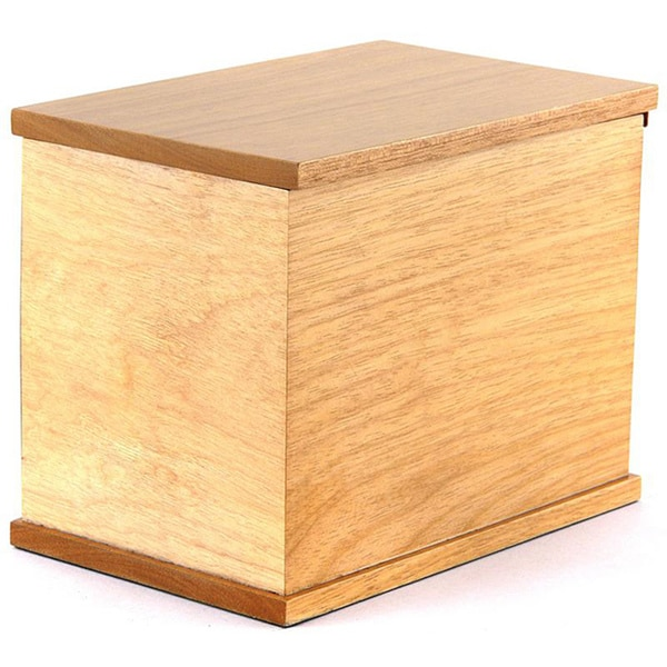 Freedom Deluxe All Natural Wood Urn