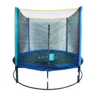 Pure Fun 8-ft Trampoline and Enclosure Set