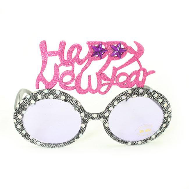Women's 2354 Grey Fashion Happy New Year Sunglasses