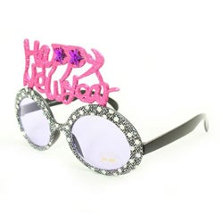 Women's 2354 Grey Fashion Happy New Year Sunglasses