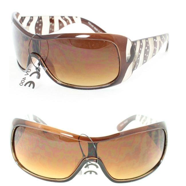 Women's P061451 Brown Fashion Sunglasses