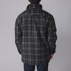 Gioberti by Boston Traveler Men's Plaid Fleece Jacket