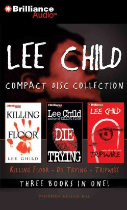 Lee Child Cd Collection: Killing Floor / Die Trying / Tripwire (CD-Audio)