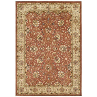 Alliyah Handmade Rust New Zealand Blend Wool Rug (8' x 10')