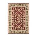 Alliyah Handmade Red New Zealand Blend Wool Rug (9' x 12')