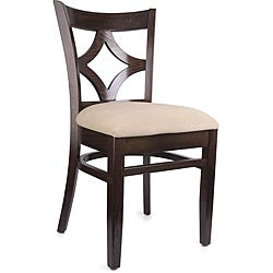 Diamond Back Walnut/ Camel Side Chairs (Set of 2)