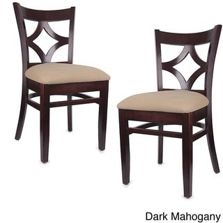 Diamond Back Dark Side Chairs (Set of 2)