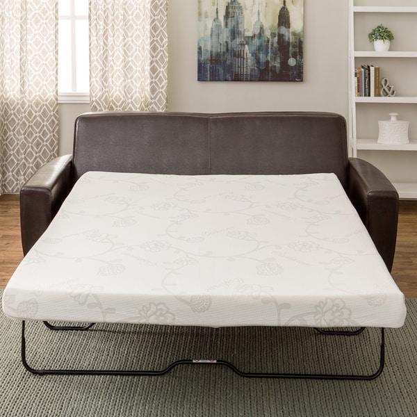 InnerSpace 4.5-inch Queen-size Memory Foam Sofa Sleeper Mattress