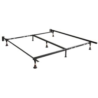 Twin/ Full/ Queen Glide-leg Steel Bed Frame