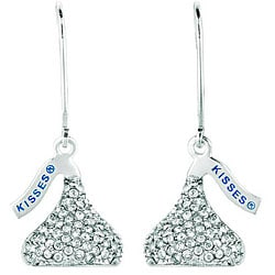 Base Metal Hershey's Kiss Earrings