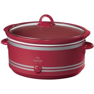 Crock-Pot SCV702 Red 7-quart Manual Slow Cooker