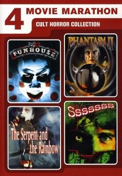 4 Movie Marathon: Cult Horror Collection (DVD)