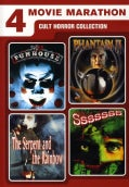 4 Movie Marathon: Cult Horror Collection (DVD)