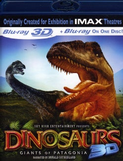 Dinosaurs: Giants Of Patagonia 3D (IMAX) (Blu-ray Disc)