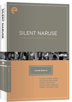 Eclipse Series 26: Silent Naruse (DVD)