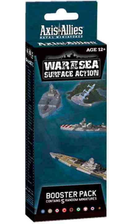 War at Sea: Surface Action: an Axis & Allies Naval Miniatures Booster Pack (Game)