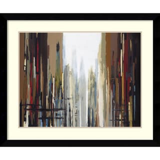 Gregory Lang 'Urban Abstract No. 159' Framed Art Print