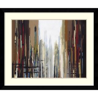 Gregory Lang 'Urban Abstract No. 159' Framed Art Print