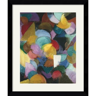 Stanton Macdonald-Wright 'Conception - Synchromy, 1915' Framed Art Print