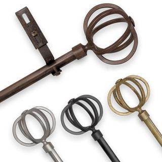 Adjustable Rod Sets with Crown Finial