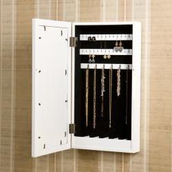 Alto Photo Display Wall-mount White Jewelry Armoire