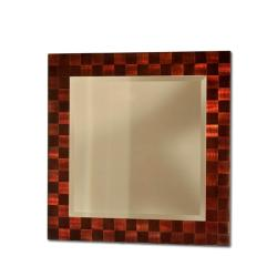 Jon Gilmore Designs Rootbeer Squared Wall Mirror