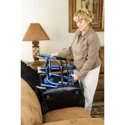 Carex Explorer Folding 5 Wheel Walker