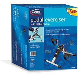 Carex Digital Display Pedal Exerciser