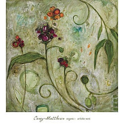 Casey Matthews 'Organic 1' Gallery-Wrapped Canvas Art