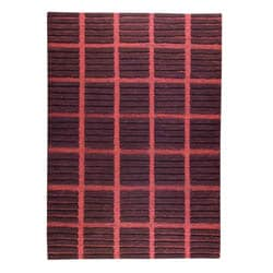 Hand knotted Piano Brown Wool Rug (8'3 x 11'6)