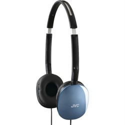 JVC FLAT Headphones - Blue